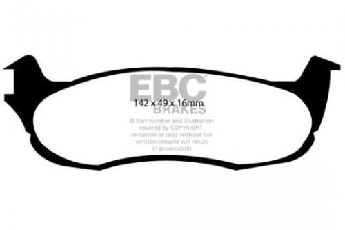 DP1633 Ultimax2 Rear Brake Pads (Street) EBC Brakes