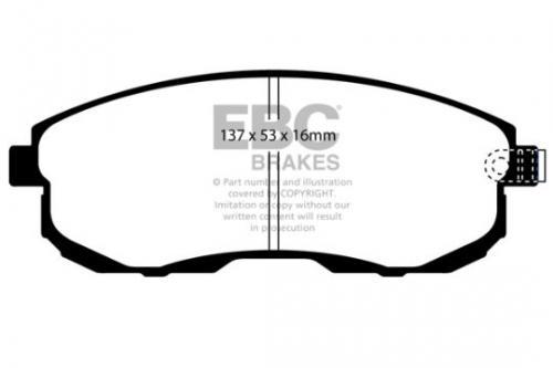 DP1636 Ultimax2 Front Brake Pads (Street) EBC Brakes