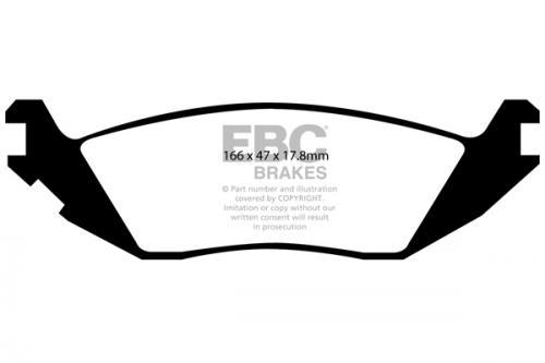 Dodge Ram/Durango Bromsbelägg Bak Ultimax2 EBC Brakes