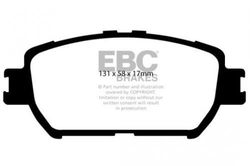 DP1642 Ultimax2 Front Brake Pads (Street) EBC Brakes