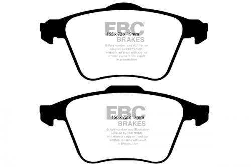 DP1679 Ultimax2 Front Brake Pads (Street) EBC Brakes