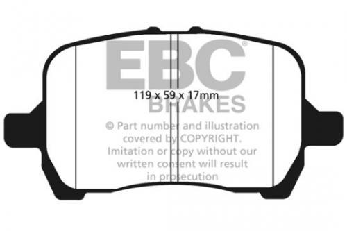 DP1763 Ultimax2 Front Brake Pads (Street) EBC Brakes
