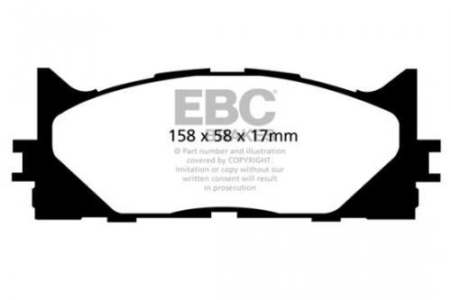 DP1790 Ultimax2 Front Brake Pads (Street) EBC Brakes