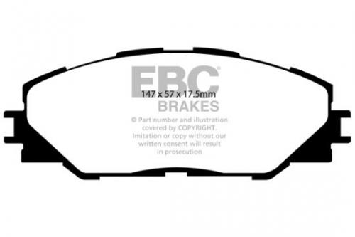 DP1792 Ultimax2 Front Brake Pads (Street) EBC Brakes