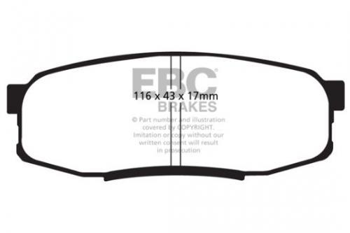 BLA2102-6L EBC BRAIDED BRAKE HOSES
