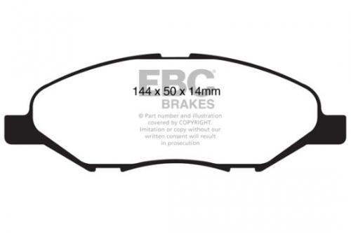 DP1832 Ultimax2 Front Brake Pads (Street) EBC Brakes