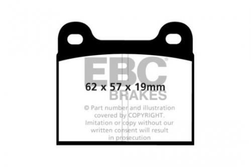DP185 Ultimax2 Front Brake Pads (Street) EBC Brakes