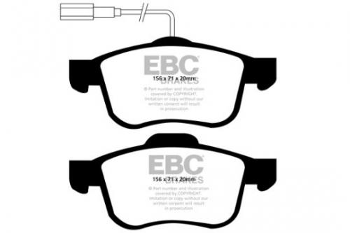 DP1904 Ultimax2 Front Brake Pads (Street) EBC Brakes