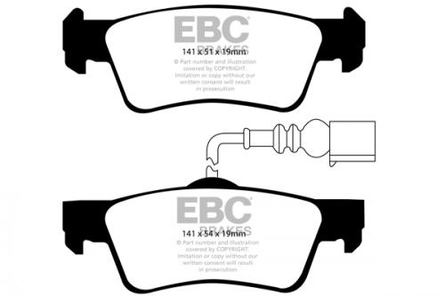 DP1907 Ultimax2 Rear Brake Pads (Street) EBC Brakes