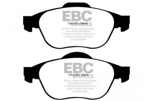 DP1958 Ultimax2 Front Brake Pads (Street) EBC Brakes