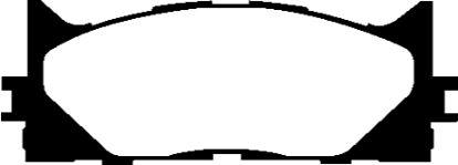 DP21790 Greenstuff Front Brake Pads (Street) EBC Brakes