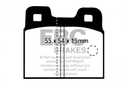 DP218 Ultimax2 Rear Brake Pads (Street) EBC Brakes