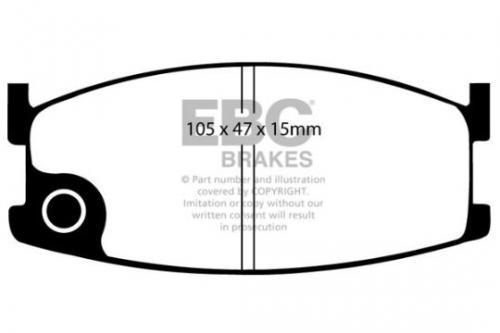 DP326 Ultimax2 Front Brake Pads (Street) EBC Brakes