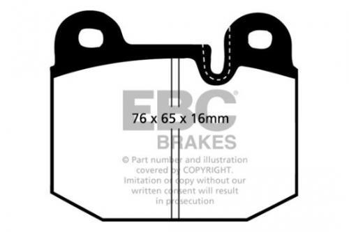 DP341 Ultimax2 Front Brake Pads (Street) EBC Brakes