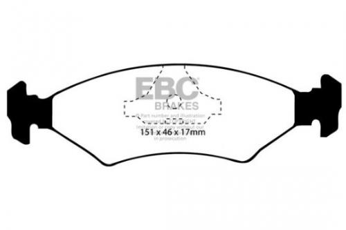 DP415 Ultimax2 Front / Rear Brake Pads (Street) EBC Brakes