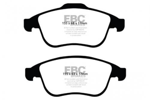 DP42024R Yellowstuff Front Brake Pads (Sport) EBC Brakes