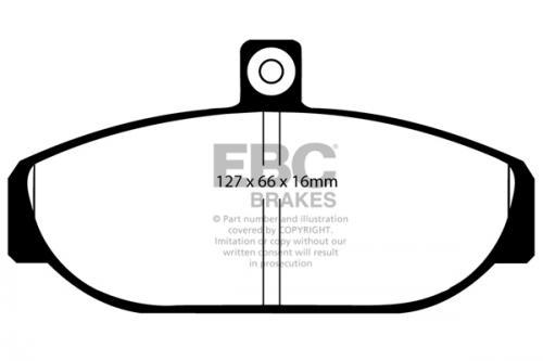 DP435 Ultimax2 Front Brake Pads (Street) EBC Brakes