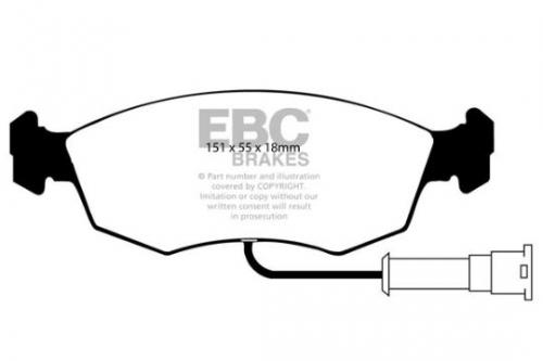 DP473 Ultimax2 Front Brake Pads (Street) EBC Brakes