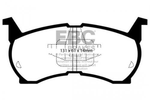 DP490 Ultimax2 Front Brake Pads (Street) EBC Brakes