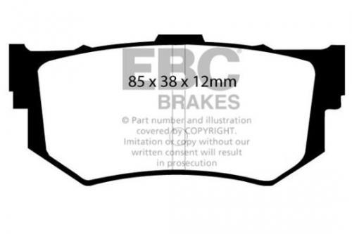 DP514 Ultimax2 Rear Brake Pads (Street) EBC Brakes