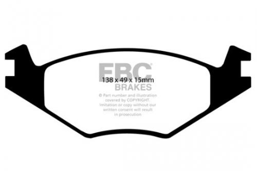 DP517 Ultimax2 Front Brake Pads (Street) EBC Brakes