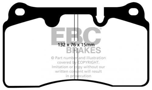 DP51908NDX Bluestuff NDX Front Brake Pads (Trackday) EBC Brakes