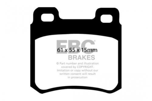 DP671 Ultimax2 Rear Brake Pads (Street) EBC Brakes