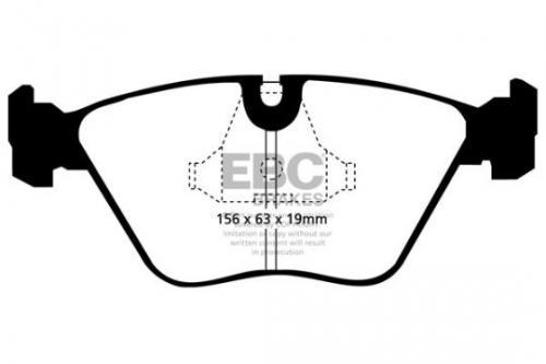 DP689 Ultimax2 Front Brake Pads (Street) EBC Brakes