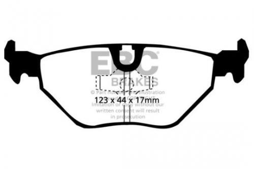 DP690 Ultimax2 Rear Brake Pads (Street) EBC Brakes