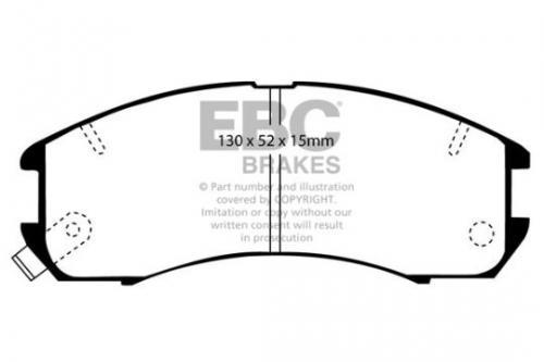 DP705 Ultimax2 Front Brake Pads (Street) EBC Brakes