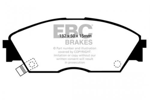 DP706 Ultimax2 Front Brake Pads (Street) EBC Brakes