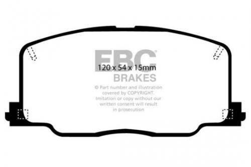 DP725 Ultimax2 Front Brake Pads (Street) EBC Brakes