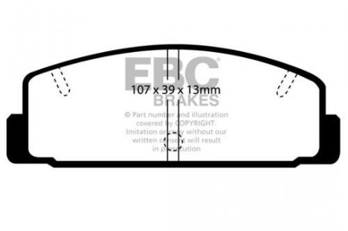 DP729 Ultimax2 Rear Brake Pads (Street) EBC Brakes