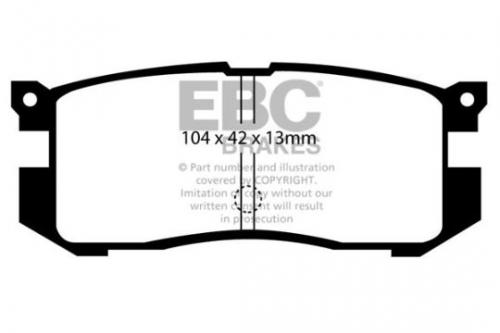 DP739 Ultimax2 Rear Brake Pads (Street) EBC Brakes