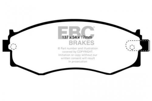 DP792 Ultimax2 Front Brake Pads (Street) EBC Brakes