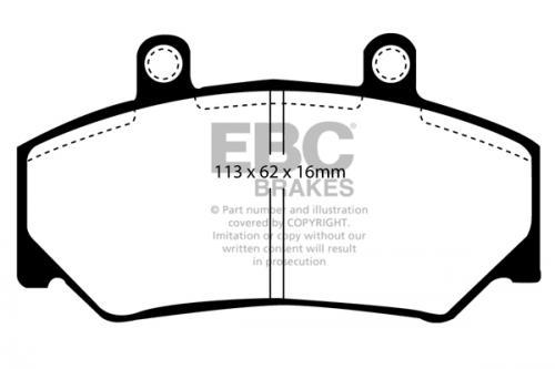 DP800 Ultimax2 Front Brake Pads (Street) EBC Brakes