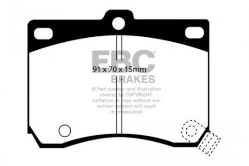 DP824 Ultimax2 Front Brake Pads (Street) EBC Brakes