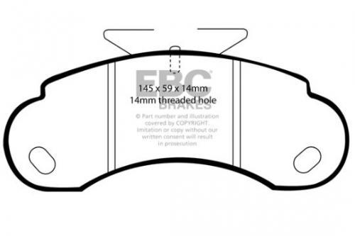 DP832 Ultimax2 Front Brake Pads (Street) EBC Brakes