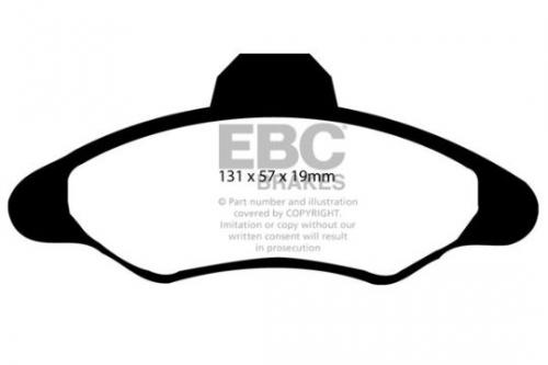 DP837 Ultimax2 Front Brake Pads (Street) EBC Brakes