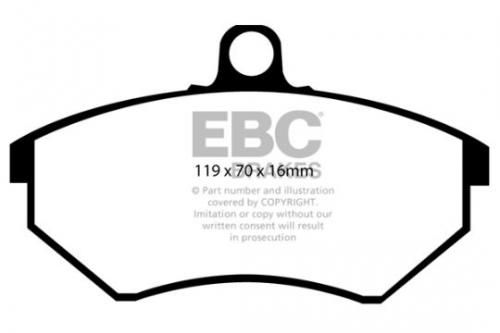 DP841 Ultimax2 Front Brake Pads (Street) EBC Brakes