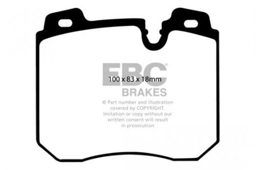 DP886 Ultimax2 Front Brake Pads (Street) EBC Brakes