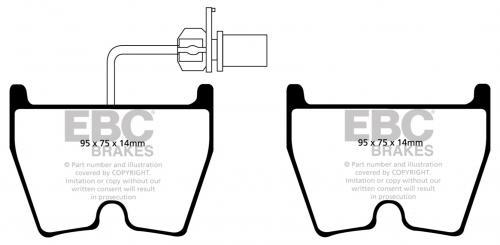 DP91513 Orangestuff Front Brake Pads (Racing) EBC Brakes