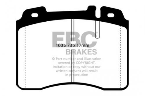 DP927 Ultimax2 Front Brake Pads (Street) EBC Brakes