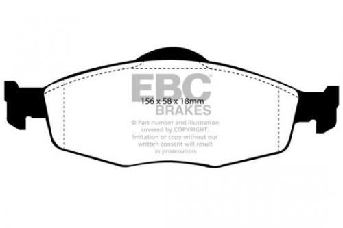 DP950 Ultimax2 Front Brake Pads (Street) EBC Brakes