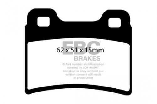 DP953 Ultimax2 Rear Brake Pads (Street) EBC Brakes