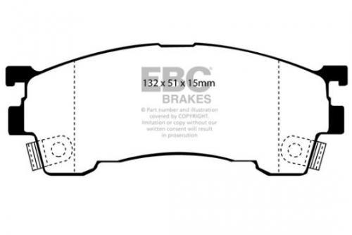 DP971 Ultimax2 Front Brake Pads (Street) EBC Brakes