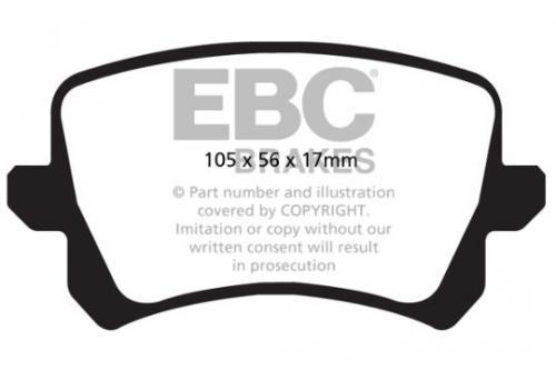 DPX2004 Ultimax2 Rear Brake Pads (Street) EBC Brakes