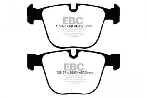 DPX2020 Ultimax2 Rear Brake Pads (Street) EBC Brakes