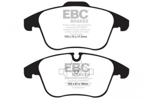DPX2040 Ultimax2 Front Brake Pads (Street) EBC Brakes