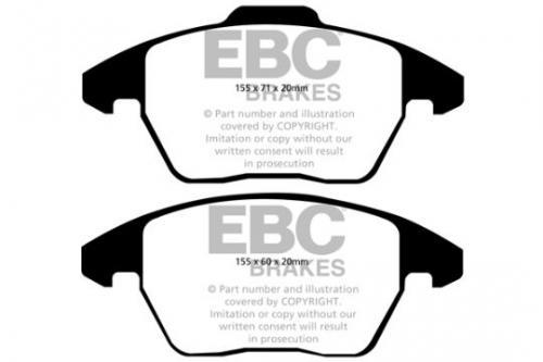 DPX2052 Ultimax2 Front Brake Pads (Street) EBC Brakes